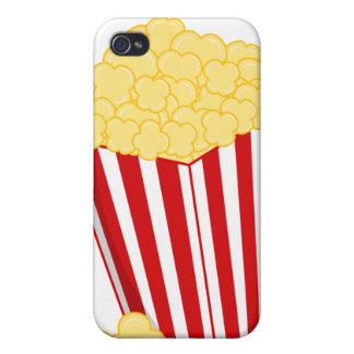 Caso del iPhone de las palomitas iPhone 4/4S Carcasa