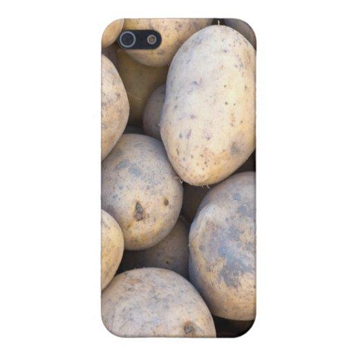 Caso del iPhone de las patatas iPhone 5 Cárcasas
