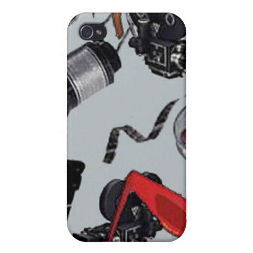 Caso del iphone de las películas iPhone 4 coberturas
