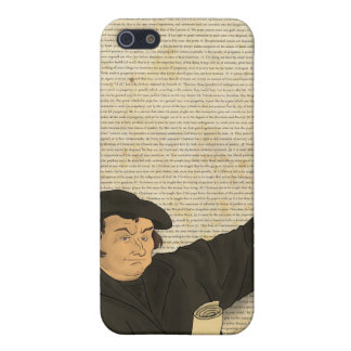 Caso del iPhone de las tesis de Martin Luther 95 iPhone 5 Cárcasas