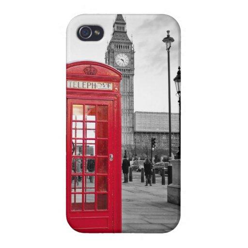 Caso del iPhone de Londres iPhone 4 Fundas