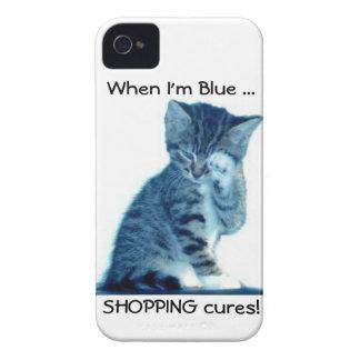 Caso del iPhone de los amantes del gatito de Funda Para iPhone 4