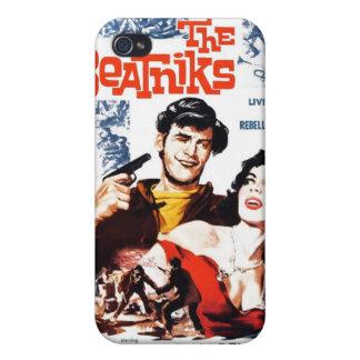 """Caso del iPhone """"de los Beatniks"""" iPhone 4 Carcasa"""