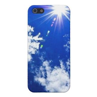 Caso del iPhone de los cielos azules iPhone 5 Carcasa