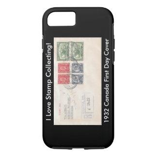 Caso del iPhone de los colectores de sello Canadá Funda iPhone 7