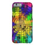 Caso del iPhone de los colores primarios del arte Funda De iPhone 6 Barely There