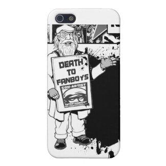 caso del iphone de los #DeathToFanboys iPhone 5 Carcasa