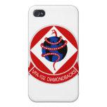 Caso del iPhone de los Diamondbacks VFA-102 iPhone 4 Fundas