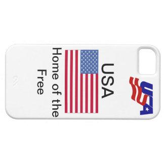 Caso del iphone de los E.E.U.U. iPhone 5 Funda