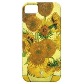 Caso del iPhone de los girasoles de Van Gogh iPhone 5 Fundas