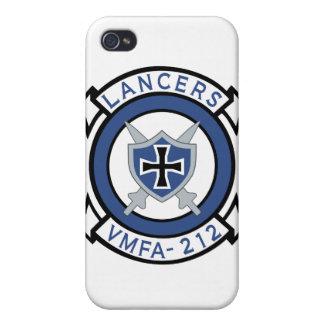 Caso del iPhone de los lanceros VMFA-212 iPhone 4 Carcasas