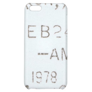 Caso del iPhone de los matasellos del vintage 1978