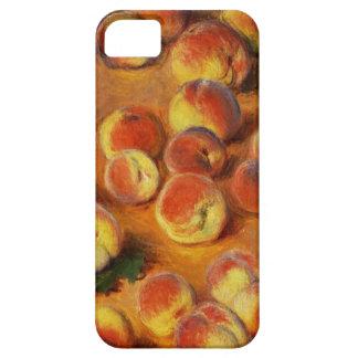 Caso del iPhone de los melocotones de Monet iPhone 5 Case-Mate Funda