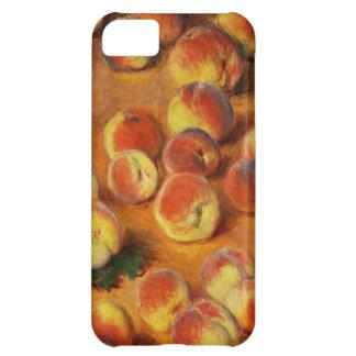 Caso del iPhone de los melocotones de Monet