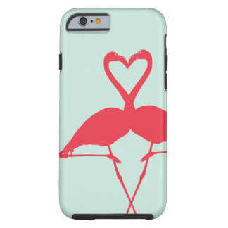 Caso del iPhone de los pájaros del amor Funda Para iPhone 6 Tough
