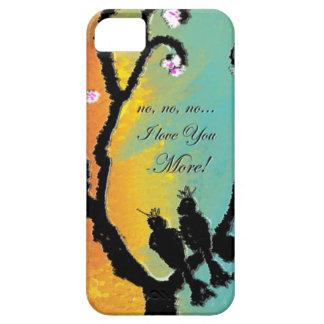 Caso del iPhone de los pájaros del amor Funda Para iPhone SE/5/5s