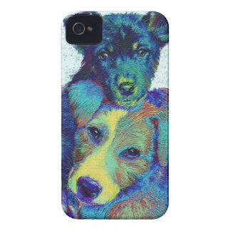 caso del iphone de los perritos de la libra Case-Mate iPhone 4 coberturas