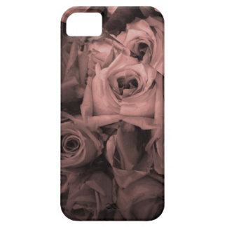 Caso del iphone de los rosas iPhone 5 carcasa