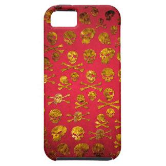 caso del iPhone de los sculls iPhone 5 Case-Mate Cárcasas