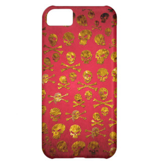caso del iPhone de los sculls Funda Para iPhone 5C