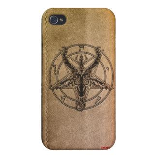 Caso del iPhone de los seguidores de Satan iPhone 4 Carcasa