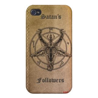 Caso del iPhone de los seguidores de Satan iPhone 4 Carcasas