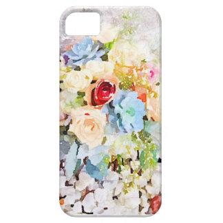 Caso del iPhone de los Succulents y de los rosas iPhone 5 Carcasa