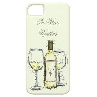 caso del iphone de los veritas del vino de la funda para iPhone SE/5/5s