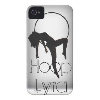Caso del iPhone de Lyra del aro de los Aerialists Case-Mate iPhone 4 Carcasa