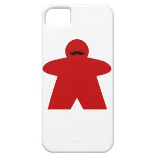 Caso del iphone de Meeple del bigote Funda Para iPhone SE/5/5s