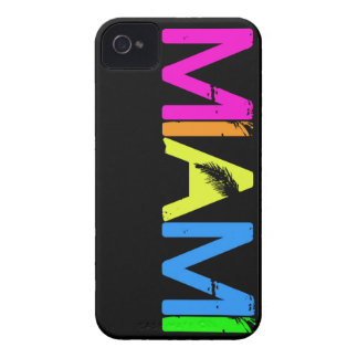 Caso del iPhone de MIAMI iPhone 4 Case-Mate Protector