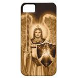 Caso del iPhone de Michael del arcángel - tono de  iPhone 5 Case-Mate Carcasas