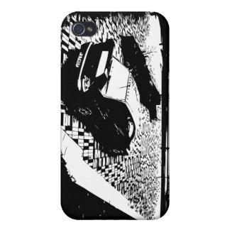 Caso del iPhone de Mitsubishi EVO iPhone 4 Funda