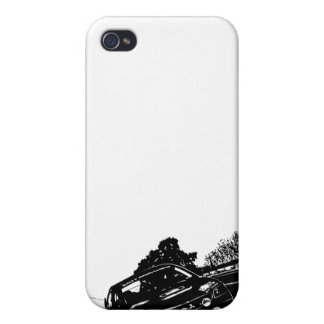 Caso del iPhone de Mitsubishi EVO iPhone 4 Fundas
