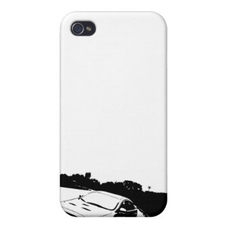 Caso del iPhone de Mitsubishi EVO X iPhone 4/4S Funda