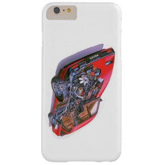 Caso del iphone de Nissan 300zx Funda Barely There iPhone 6 Plus