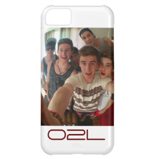 caso del iphone de o2l funda para iPhone 5C