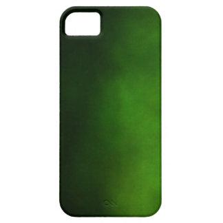 Caso del iPhone de Ombre del verde esmeralda iPhone 5 Cárcasas