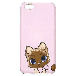 Caso del iphone de Pawprint del gatito
