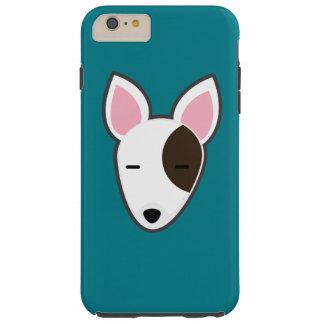 Caso del iPhone de Petory bull terrier Funda Para iPhone 6 Plus Tough