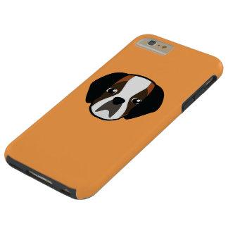 Caso del iPhone de Petory St Bernard Funda Para iPhone 6 Plus Tough