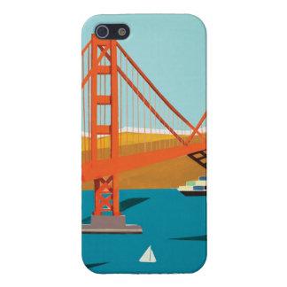 Caso del iPhone de puente Golden Gate iPhone 5 Funda