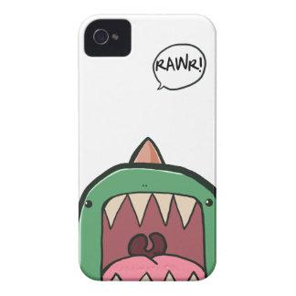 Caso del iPhone de RAWR iPhone 4 Case-Mate Cobertura