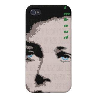 Caso del iPhone de Rimbaud iPhone 4/4S Carcasa