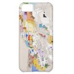 Caso del iPhone de Santorini Funda Para iPhone 5C