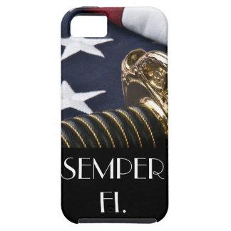Caso del iPhone de Semper Fi iPhone 5 Coberturas