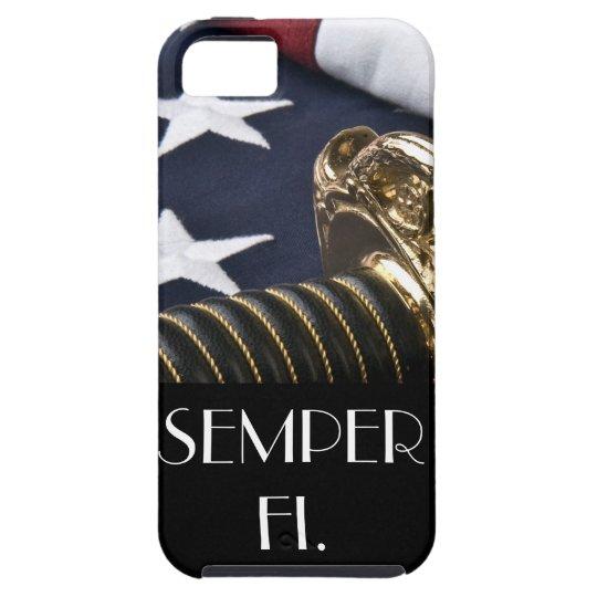 Caso del iPhone de Semper Fi Funda Para iPhone SE/5/5s