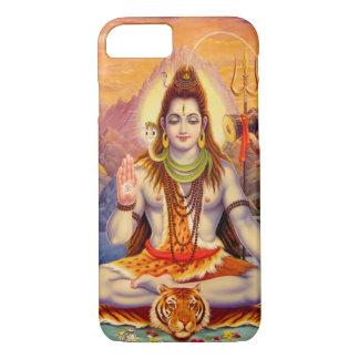 Caso del iPhone de señor Shiva Meditating Funda iPhone 7