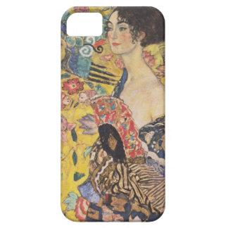 Caso del iPhone de señora With Fan de Gustavo Klim iPhone 5 Carcasas