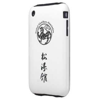 Caso del iPhone de Shotokan para 3G/3GS iPhone 3 Tough Carcasa